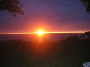 Mr. Beechie's Bayfield Sunset